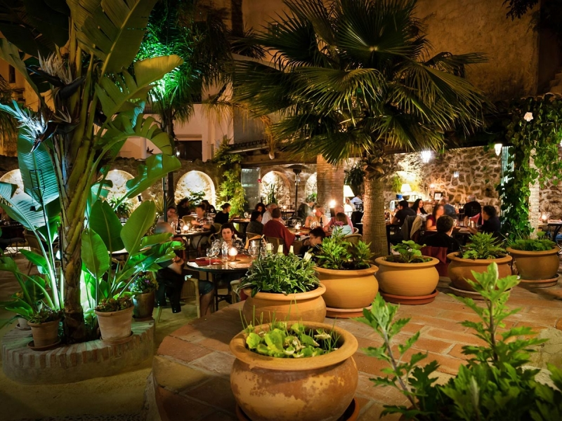wild projects - restaurant in Vejer de la Frontera