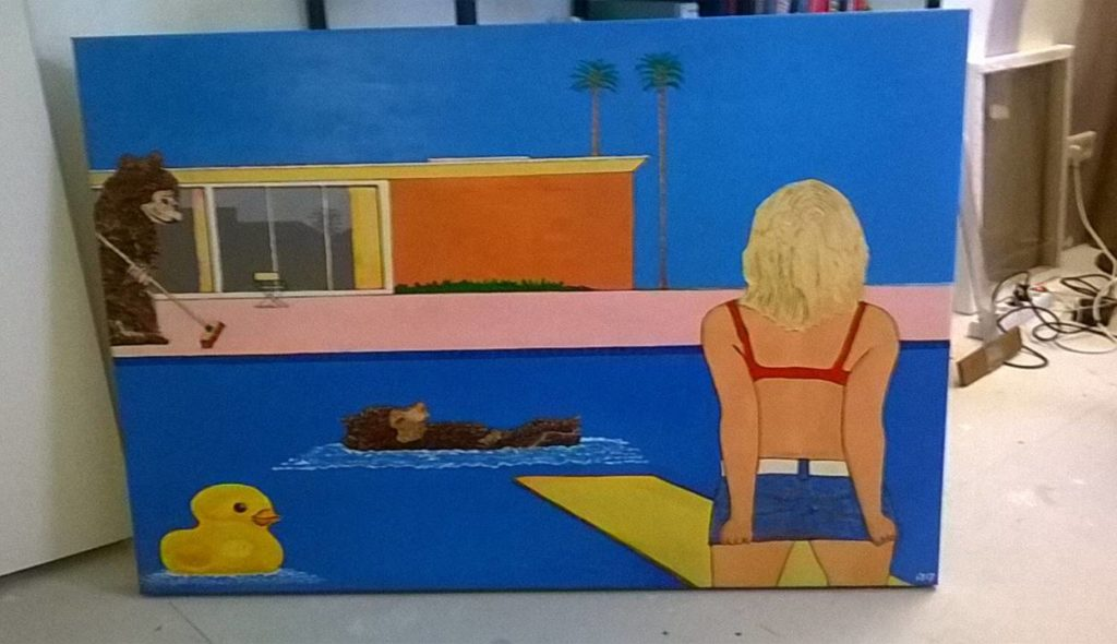 David Hockney variant